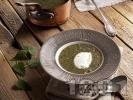 Рецепта Супа от коприва с лук, моркови и фиде и застройка от кисело мляко и яйце